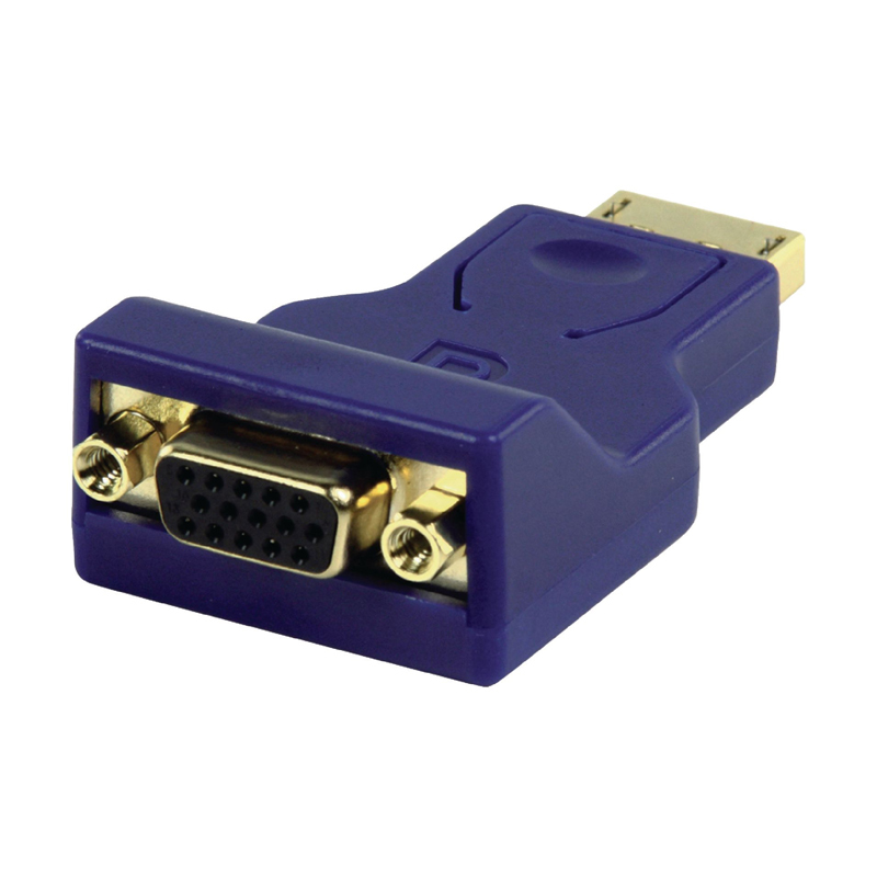 Adaptor DisplayPort HQ, VGA mama, conectori auriti