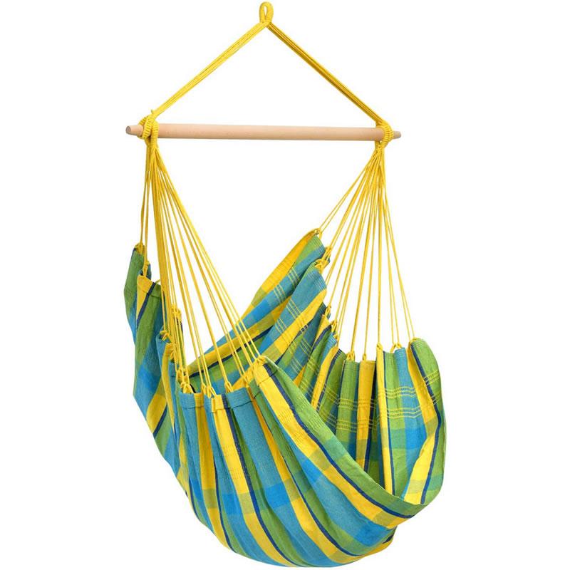 Hamac tip scaun Brasil Lemon Amazonas, 160 x 130 cm, capacitate maxima 120 kg 2021 shopu.ro
