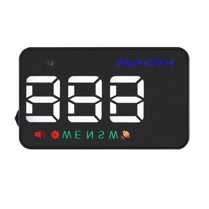 Display kilometraj Head-Up auto Well, 3.5 inch, interfata GPS 2021 shopu.ro