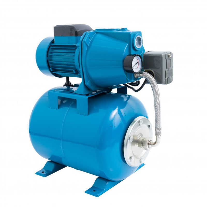 Hidrofor Elefant Aquatic AUTOJET80S, 1000 W, 50 l/min, rezervor 25 l, 2.8 bar, inaltime 40 m, adancime 8 m, inox-otel 2021 shopu.ro