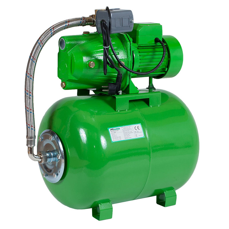 Hidrofor ProGarden AUJET100L/50L, 750 W, 2900 rpm, 4 bar, 50 l/min, inaltime 45 m, adancime 9 m shopu.ro