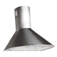 Hota Tornado Viola, forma cupola, filtru aluminiu, 3 viteze, 750 m3/ora, 60 cm, 120 W, Inox
