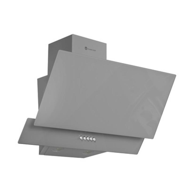 Hota decorativa Glam Duo Grey Studio Casa, 102.5 W, 60 cm, 300 m3/h, motor turbo, iluminare LED, filtru lavabil, Gri 2021 shopu.ro