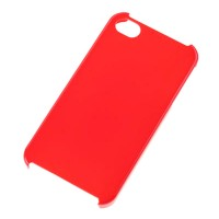 Husa Back Cover Case telefon iPhone 4, plastic, Rosu