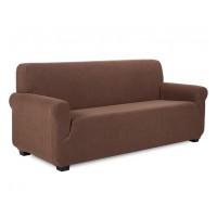 Husa cu elastic pentru canapea, lungime 180 - 210 cm, model carouri 3D