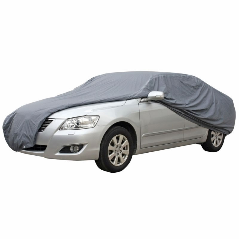 Husa exterioara auto Ro Group, marimea XL, Gri 2021 shopu.ro