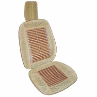 Husa scaun auto cu tetiera si suport lombar, bambus