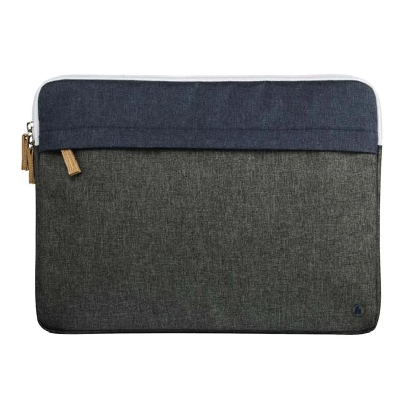 Husa laptop Florence Hama, 13.3 inch, poliester, Gri/Albastru 2021 shopu.ro