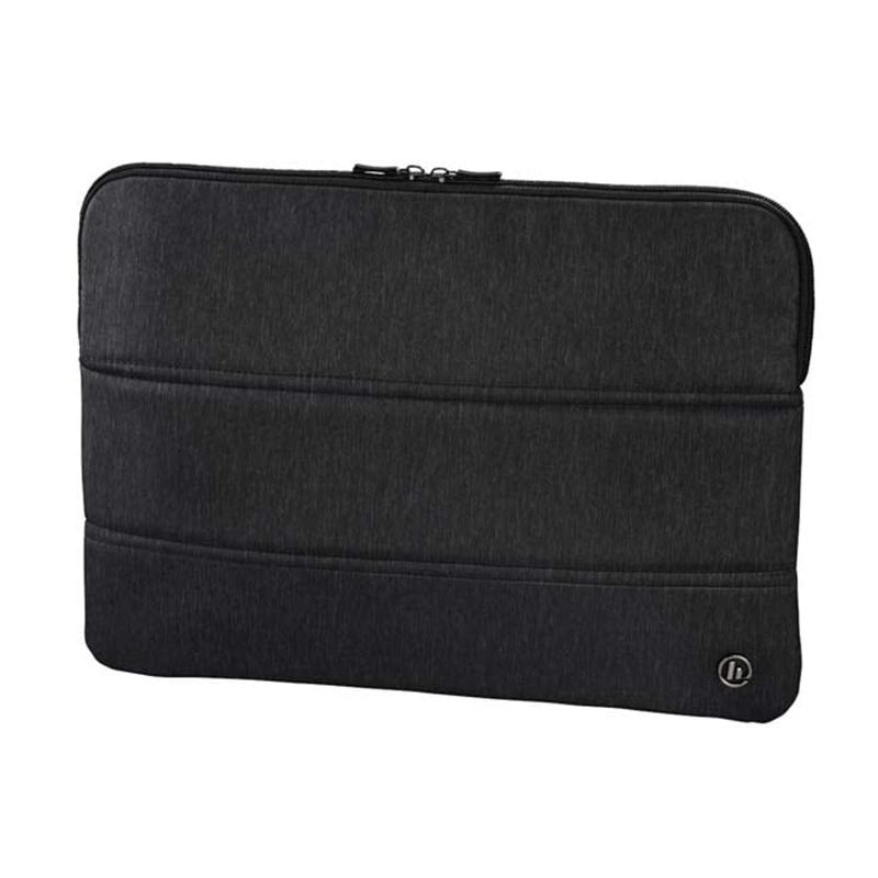 Husa laptop Manchester Hama, 13.3 inch, poliester, Negru 2021 shopu.ro