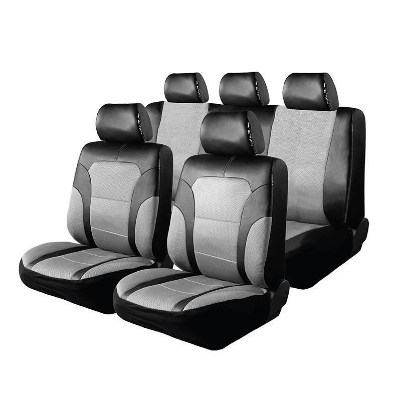 Huse scaun auto Mesh RoGroup, 9 piese, model universal 2021 shopu.ro