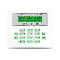 Tastatura LCD pentru centralele Integra Satel INT-KLCDS-GR