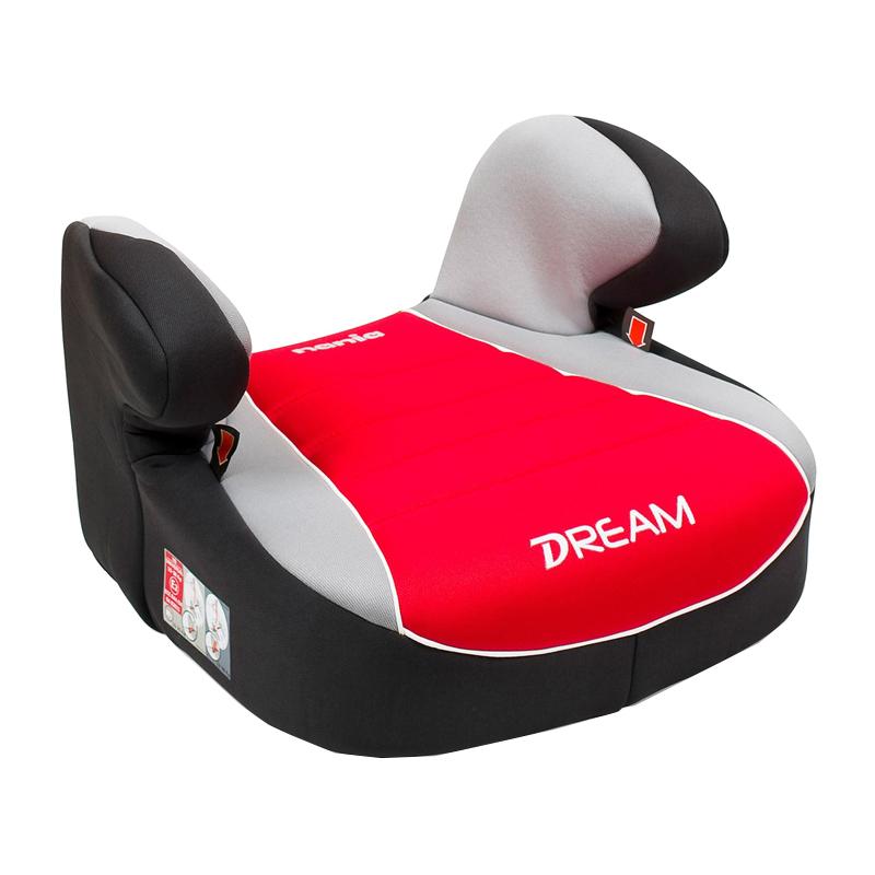 Inaltator auto pentru copii Dream, suporta 18-36 kg, Rosu