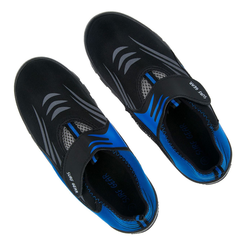 Incaltaminte inot pentru baieti Aquashoes Surf Gear, marimea 40-41, Albastru/Negru 2021 shopu.ro