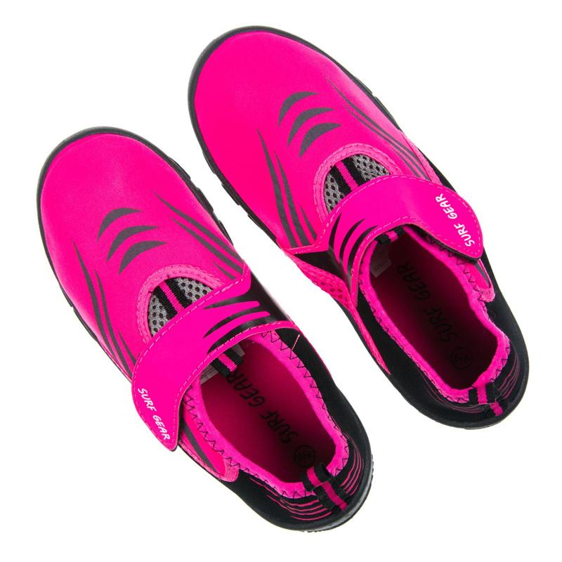 Incaltaminte inot pentru fete Aquashoes Surf Gear, marimea 36-37, Roz 2021 shopu.ro