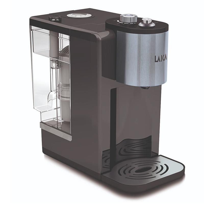 Incalzitor instant de apa filtrata Laica Volcano, 2600 W, 3 l, sistem Germ-Stop 2021 shopu.ro