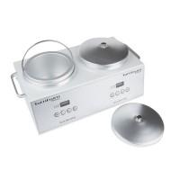 Incalzitor metalic ceara/parafina dublu Waxkiss, 140 W, 1000 ml