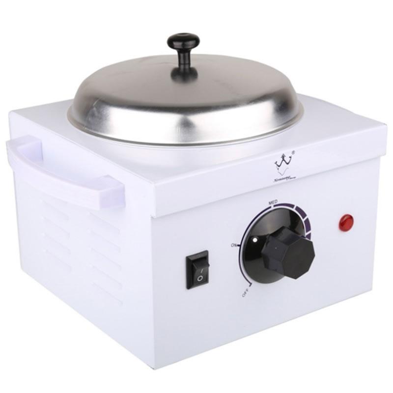 Incalzitor metalic pentru ceara si parafina Welong, 110 W, 500 ml 2021 shopu.ro