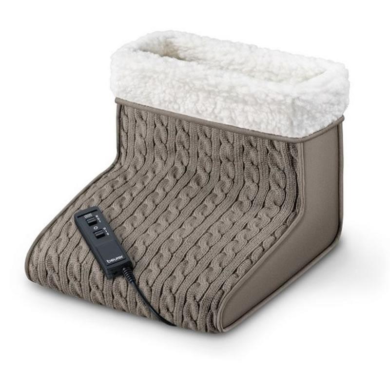 Incalzitor pentru picioare cu masaj Beurer FWM45, 2 nivele intensitate 2021 shopu.ro