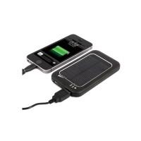 Incarcator solar univsersal, 5000 mAh, 1 x USB, 2 x led