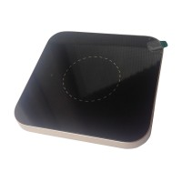 Incarcator wireless slim pentru telefoane, 1000 mAh, forma patrata