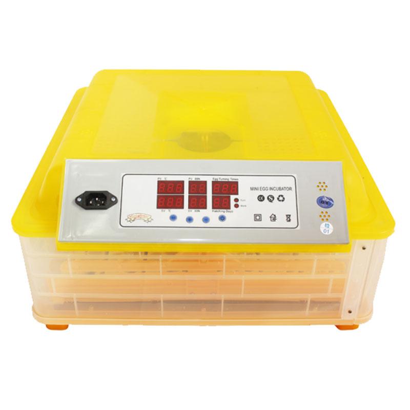 Incubator automat Micul Fermier, 180 W, 0 - 42 grade C, 48 oua gaina, 132 oua prepelita 2021 shopu.ro