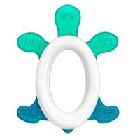Inel pentru dentitie cu zornaitoare Cool & Play Reer, 3 luni+