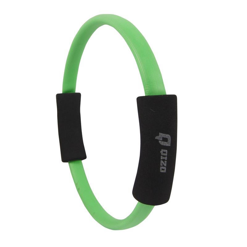Inel pentru pilates Qizo, diametru 35 cm, Verde 2021 shopu.ro