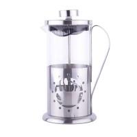 Infuzor ceai/cafea Peterhof, 600 ml, sticla