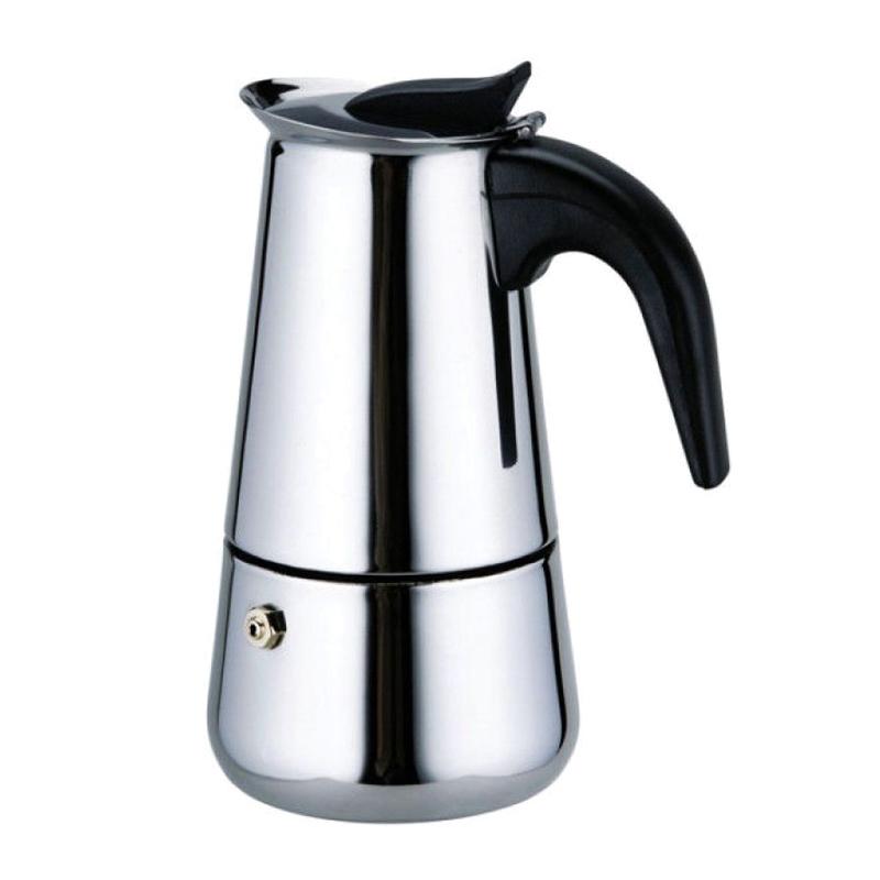 Infuzor pentru cafea Bohmann, 9 cesti, 450 ml, Argintiu 2021 shopu.ro