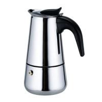 Infuzor pentru cafea Bohmann, 2 cesti, otel inoxidabil, 100 ml, Argintiu