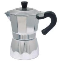 Infuzor pentru cafea Sapir, 9 cesti, Argintiu