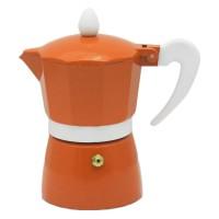 Infuzor pentru cafea Zephyr Z1173L3, aluminiu, 3 cesti, portocaliu