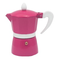 Infuzor pentru cafea Zephyr Z1173L3, aluminiu, 3 cesti, roz