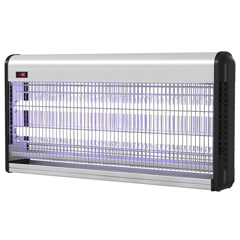 Insectocutor cu UV pentru distrugera insectelor InsectoKILL M40, 2 x 20 W, 150 mp 2021 shopu.ro