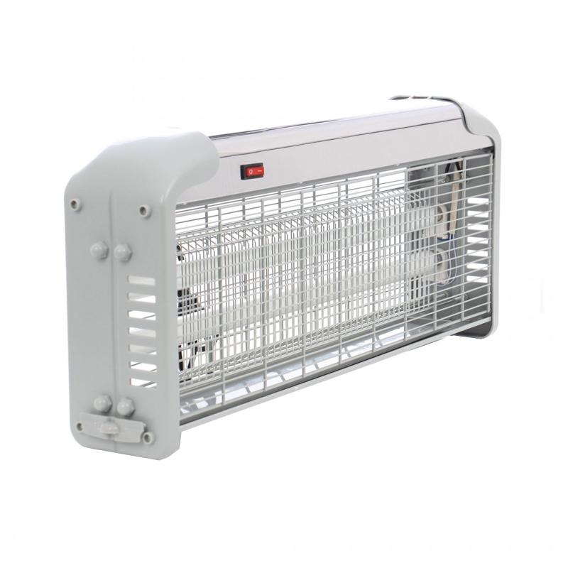 Insectocutor UV, 2 x 20 W, 150 mp, Argintiu 2021 shopu.ro