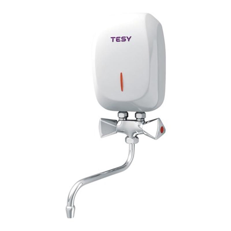 Instant electric pentru bucatarie Tesy, 5 kW, 2.9 l/min, 20 x 13 x 7.6 cm, cablu alimentare inclus shopu.ro