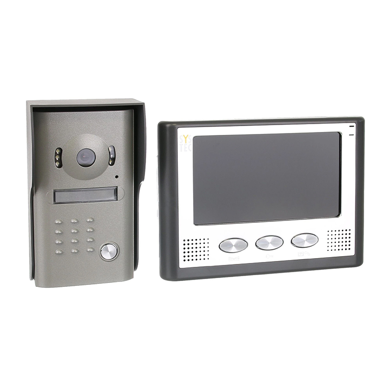 Interfon video Systec, LCD color, 7 inch, montaj aplicat 2021 shopu.ro