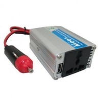 Invertor tensiune 12V-220V, putere 100 W
