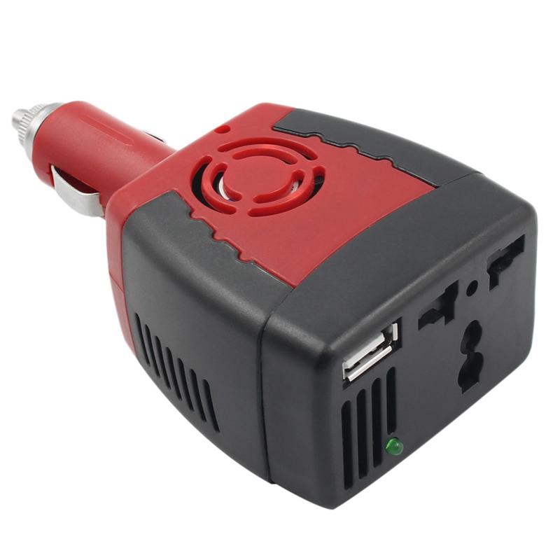Invertor 12V-220V, 150 W, alimentare bricheta auto 2021 shopu.ro