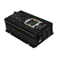 Invertor 12V-220V, 1000W, USB si display digital