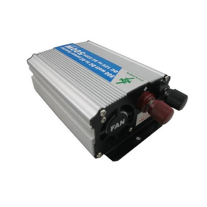 Invertor tensiune 24V-220V, putere 500 W 2021 shopu.ro