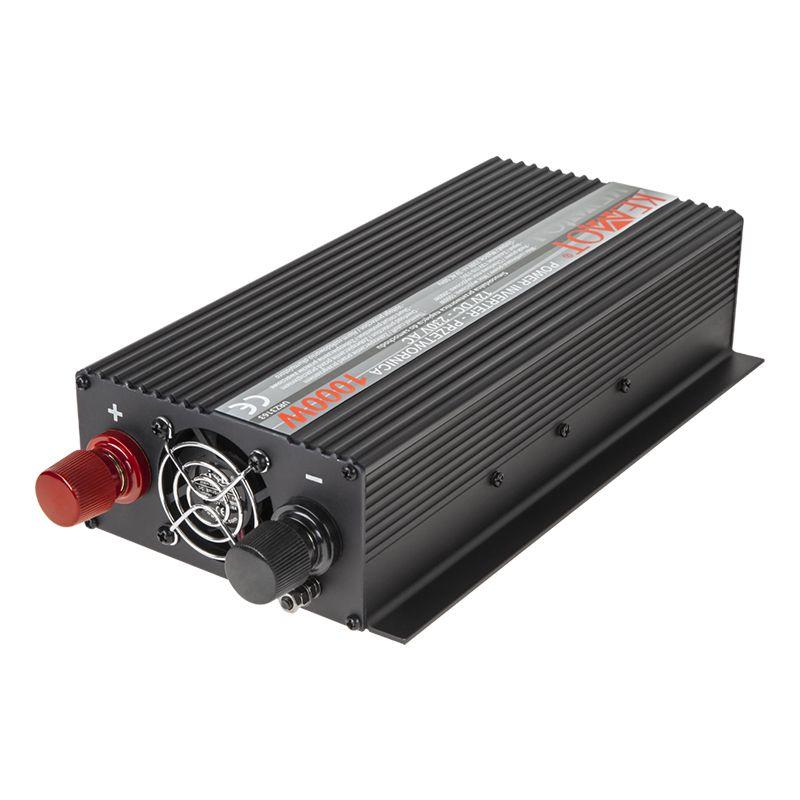 Invertor Kemot 24 V DC/230V AC, putere totala maxima 1000 W 2021 shopu.ro