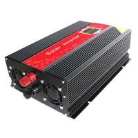 Invertor cu display 24V-220V, USB, putere 2000 W
