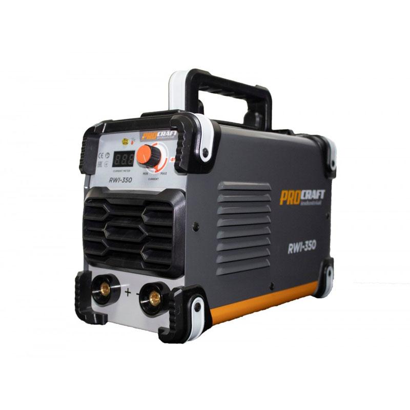 Invertor industrial Procraft RWI 350, 350 A, MMA, electrozi 1.6 - 5 mm, hot start, arc force, tranzistori IGBT, IP 21 shopu.ro