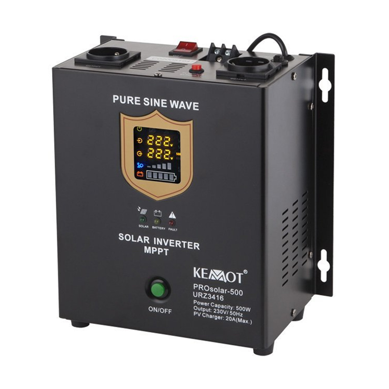 Invertor solar Prosolar 500 Kemot, putere maxima 500 W 2021 shopu.ro