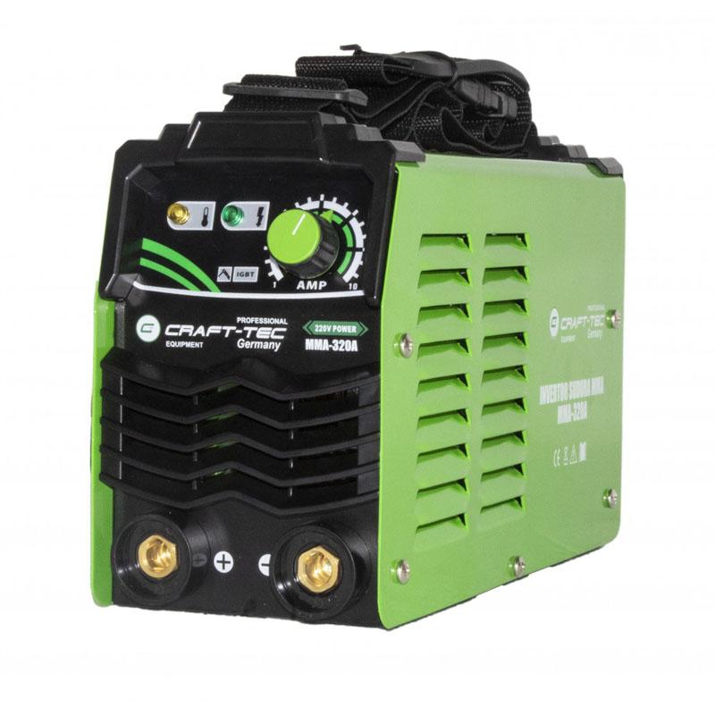 Invertor sudura Craft-Tec, 320 A, MMA, electrozi 1.6 - 4 mm, IP 21 2021 shopu.ro