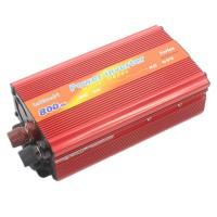 Invertor tensiune 12V-220V Lairun, 800 W, putere continua 575 W