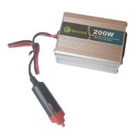 Invertor tensiune 12V-220V Lairun, 200 W, putere continua 200 W