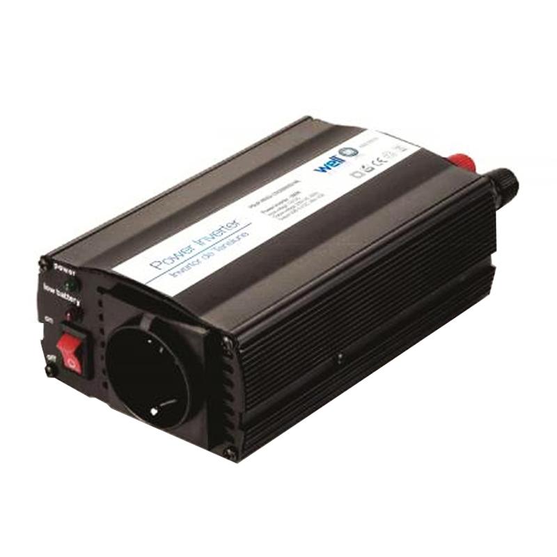 Invertor de tensiune Well, 300W, 12V, USB 2021 shopu.ro
