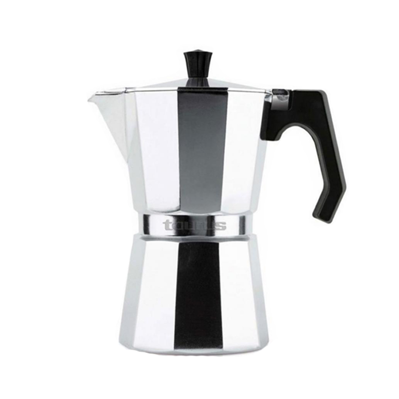 Infuzor pentru cafea Italica 6 Taurus, 6 cesti, Aluminiu 2021 shopu.ro